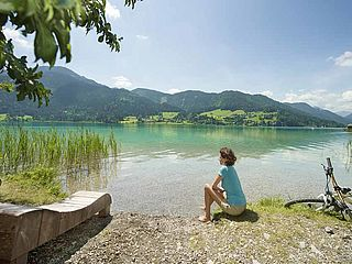 Bike Area Weissensee - MTB-Trail Panorama West